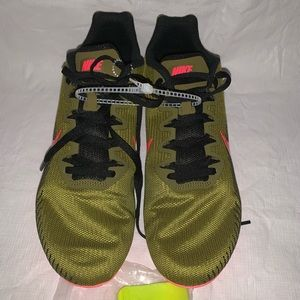 Nike Zoom Rival M 9 Spikes Racing Shoes mens sz 10